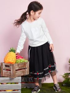 poipoilu2017春夏装女童纱裙