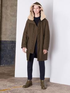 Balenciaga 2016新品带帽棉衣