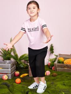 poipoilu2017女童夏装T恤