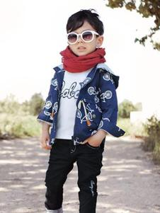 可爱100童装时尚街头风外套
