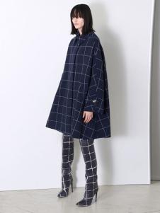 Balenciaga 2016新品廓形格子大衣