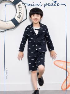 太平鸟童装2016新品男童西服套装