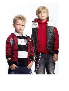 纽约男孩童装棉马夹