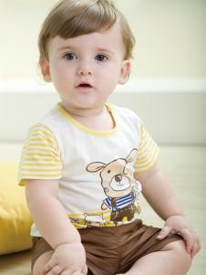 雅培孕婴童装卡通图案T恤