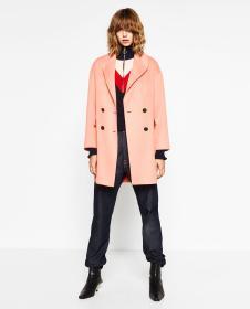 DM粉色H版外套