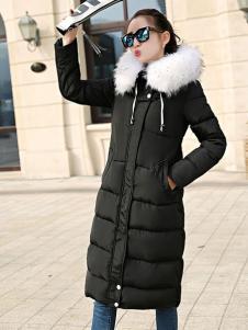 CH-21冬季保暖时尚长款外套