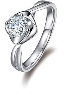 金嘉利时尚经典钻石钻戒