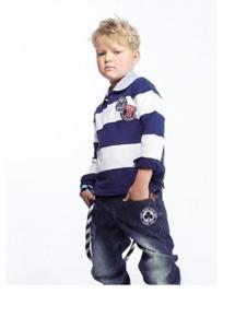 纽约男孩童装条纹针织