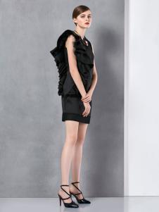 奥伦提2016冬季新款时尚连衣裙