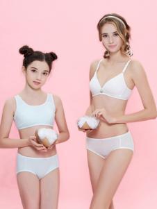 柔淇白色时尚文胸套装新品