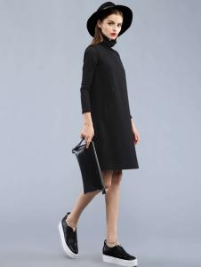 Carmen2016黑色连衣裙