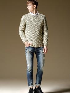 美酷思秋冬新款男士牛仔裤