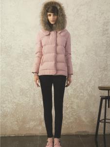 衣魅人2016冬季短款羽绒服