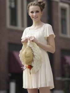 凯迪·米拉女装褶皱连衣裙
