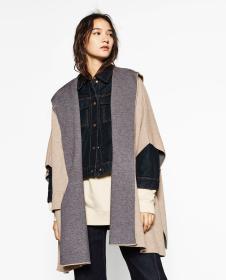 DM女装五分袖宽松外套