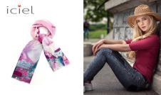 巴黎天空新款围巾