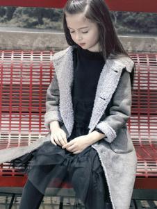 JOJO童装2016秋冬新品女童加棉大衣