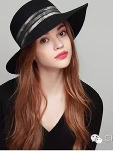 新帽馆2016黑色帽子