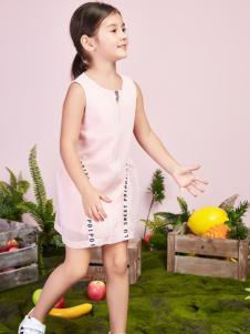 poipoilu2017女童新款连衣裙
