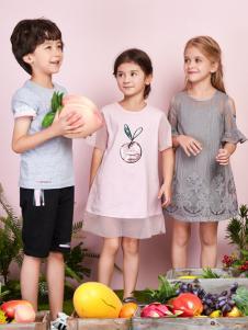 poipoilu2017女童夏装连衣裙