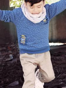 可爱100童装印花卫衣T恤