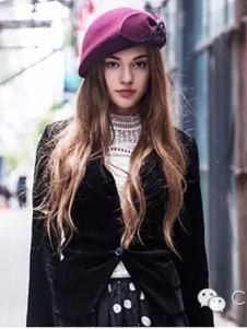 新帽馆2016新款女款秋冬帽子