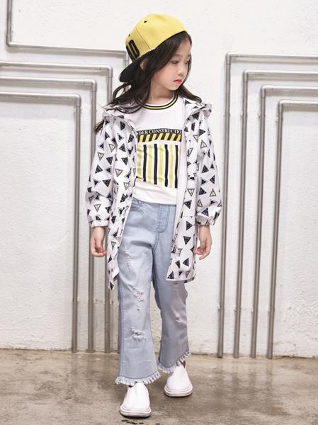 玛玛米雅女童中长款春季外套
