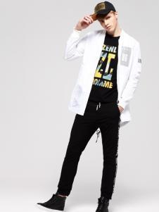 2017佐纳利新款白色外套