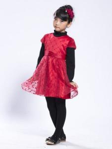 BenKo缤果童装礼服裙