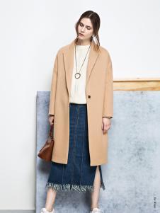 丽芮时尚修身大衣正品