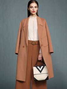 Carmen卡蔓女士长款大衣
