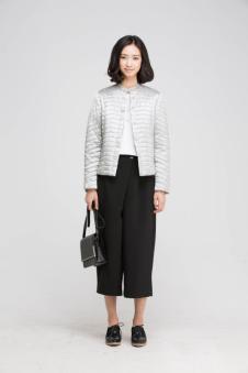 贝洛安女装2017春新品短款外套