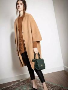 西蔻2016冬季新款廓形大衣