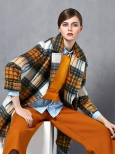 奥伦提冬季新款时尚大衣
