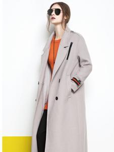 丽芮秋季时尚修生大衣新款