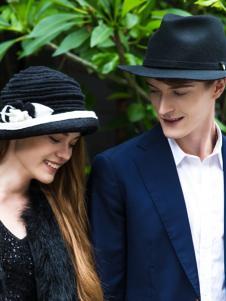 新帽馆秋冬新款黑色帽子