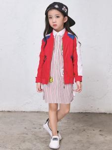 玛玛米雅春季红色短外套
