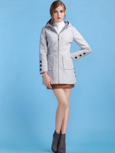 淑女日记女士新款加厚外套