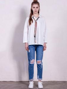 GCCG女装2016秋冬新品白衬衫