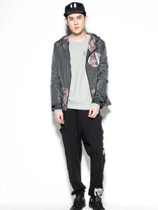 HOLYMOLY时尚灰色外套