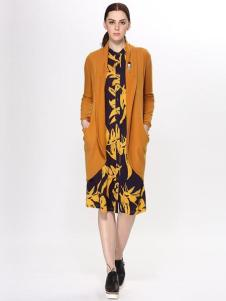 Sofeya女装秋冬新品中长款薄外套