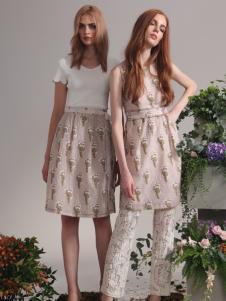 红贝缇2017春夏新款时尚连衣裙