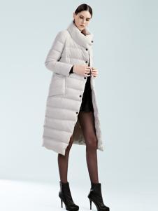 例格女士长款保暖羽绒服