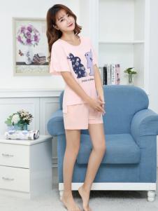 珍妮芬新款时尚睡衣