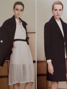 薇妮兰黑色大衣