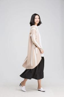 贝洛安2017春新品女装长衫