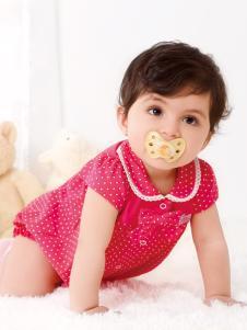 皇后婴儿女小童波点套装