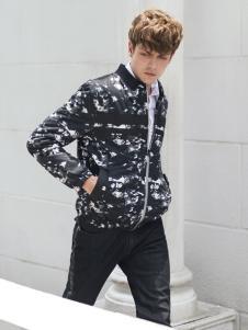 莎斯莱思男装秋冬短款棉衣