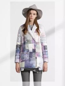 迪斯廷凯短款时尚羽绒服新品