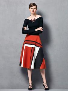 奥伦提冬季新款时尚打底裙